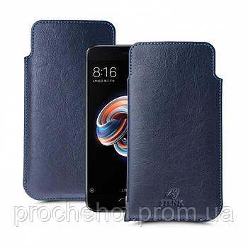 Футляр Stenk Elegance для Xiaomi Mi Note 3 Синий