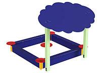 Защитный Элемент Навес Тучка для детской песочницы или площадки с двумя деревянными опорами 200х150х125 см, фото 1