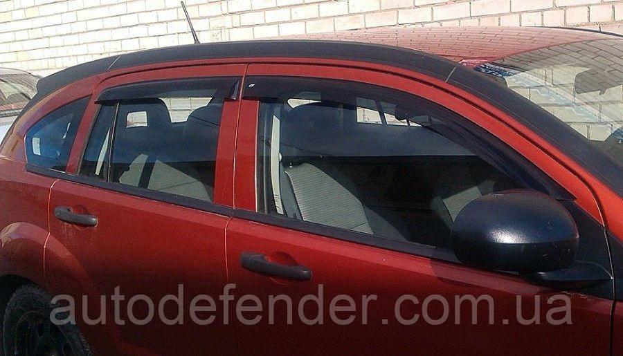 Дефлектори вікон (вітровики) Dodge Caliber 2007-, Cobra Tuning - VL, D20107
