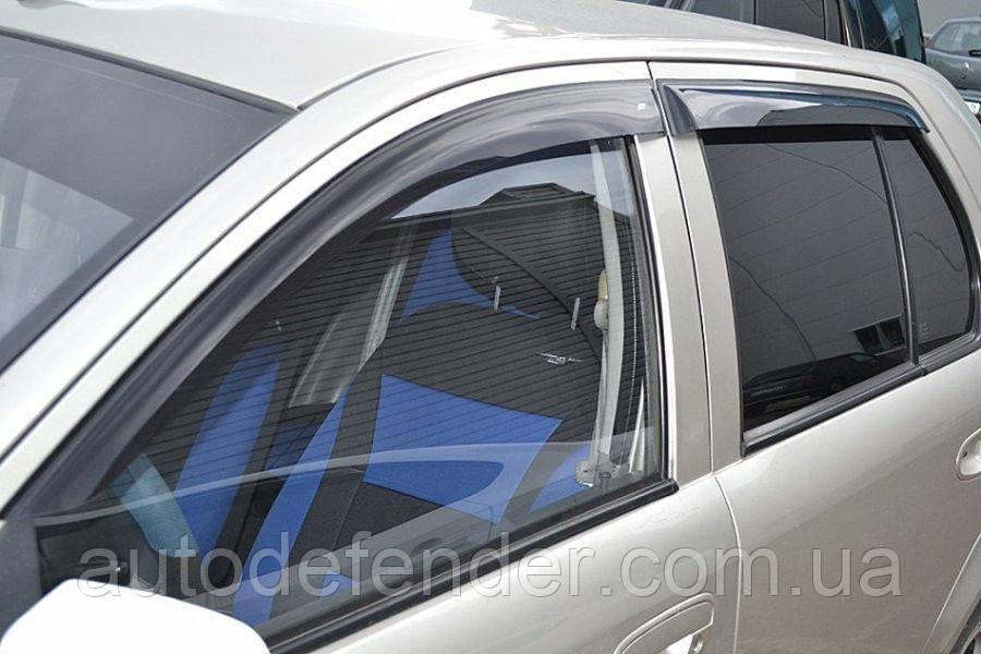 Дефлектори вікон (вітровики) FAW Vita 2007 - hatchback, Cobra Tuning - VL, F10107