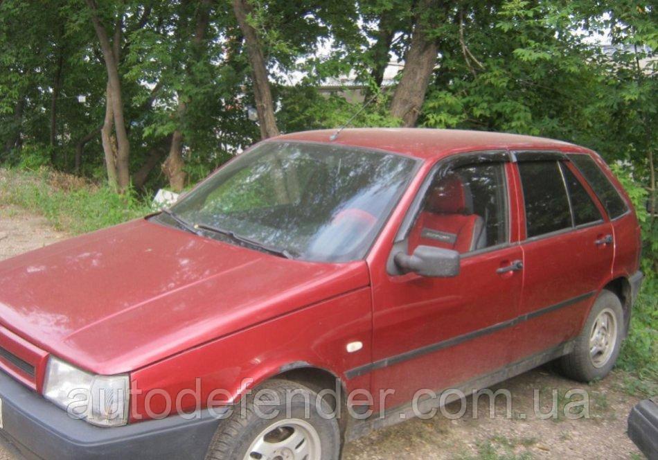 Дефлекторы окон (ветровики) Fiat Tipo 1987-1995 (160), Cobra Tuning - VL, F21487