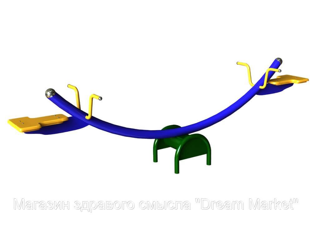 Детская спортивно-игровая Качалка-балансир Коромысло для открытых площадок влагостойкая 220х160х70 см
