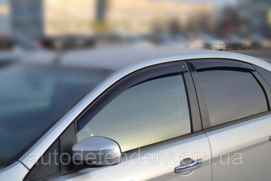 Дефлекторы окон (ветровики) Ford Focus II 2004-2010 hatchback/sedan, ANV - Cobra Tuning, F30604