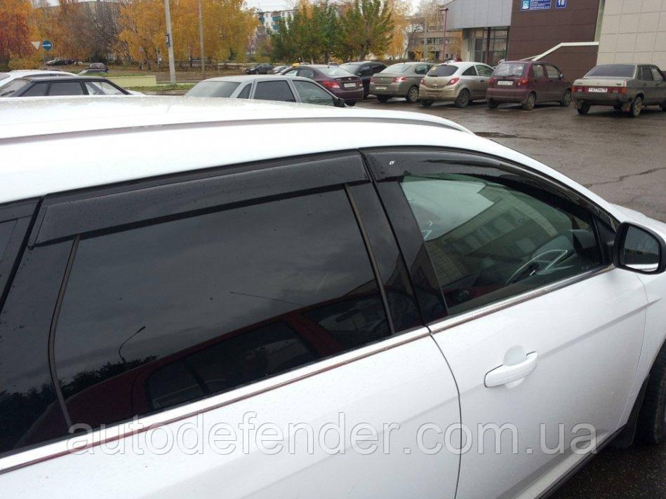 Дефлекторы окон (ветровики) Ford Focus III wagon 2011-2018, ANV - Cobra Tuning, F33110