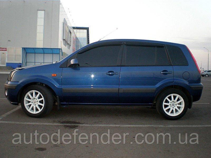 Дефлекторы окон (ветровики) Ford Fusion 2002-2011, ANV - Cobra Tuning, F30902