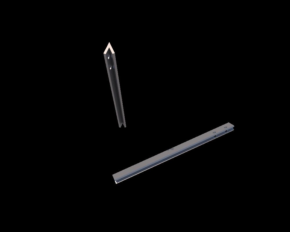 Элемент Крепления Секционный влагостойкий надежный Соединительный уголок 45° для детской песочницы, 40 см