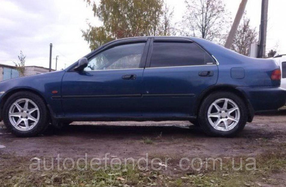 Дефлекторы окон (ветровики) Honda Civic V sedan 1991-1995, Cobra Tuning - VL, H12191