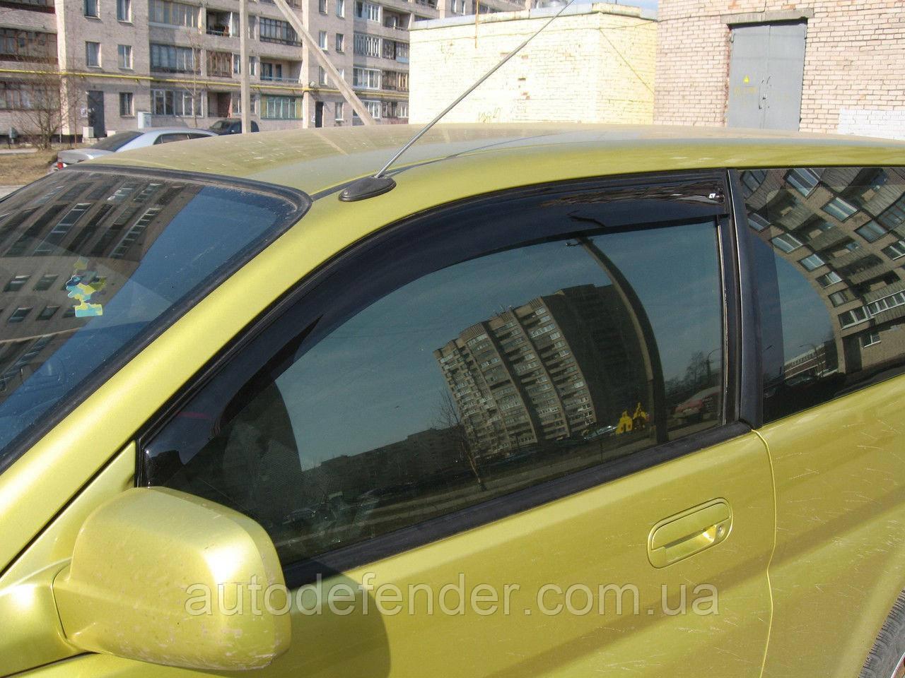 Дефлекторы окон (ветровики) Honda HR-V 3d 1998-2005, Cobra Tuning - VL, H10898