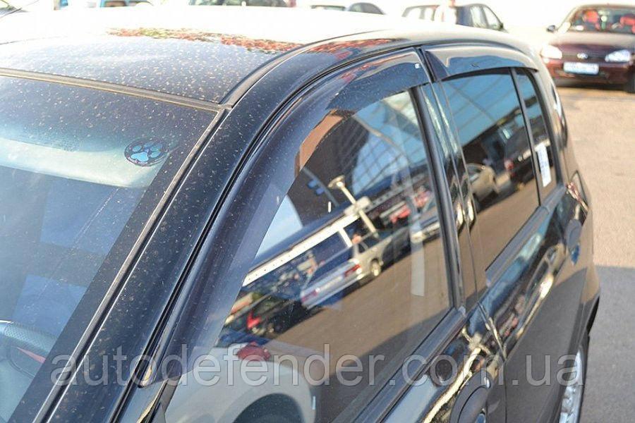 Дефлекторы окон (ветровики) Hyundai Getz 5d 2002-, ANV - Cobra Tuning, H20502