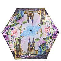Женский компактный облегченный механический зонт LAMBERTI z75119-1876