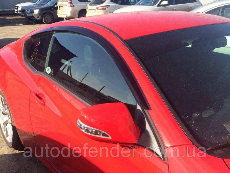 Дефлектори вікон (вітровики) Hyundai Genesis Coupe 2013-2018, Cobra Tuning - VL, H24413