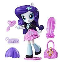 Детский Игровой Набор с подвижной Мини-куклой для девочек Рарити Эквестрия Герлз с аксессуарами My Little Pony