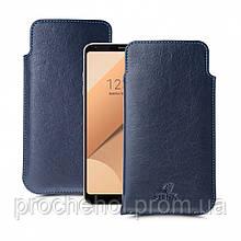 Футляр Stenk Elegance для LG G6 Plus Синий