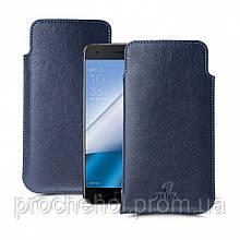 Футляр Stenk Elegance для ASUS Zenfone 4 Pro (ZS551KL) Синий