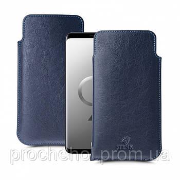 Футляр Stenk Elegance для Samsung Galaxy S9 Синий