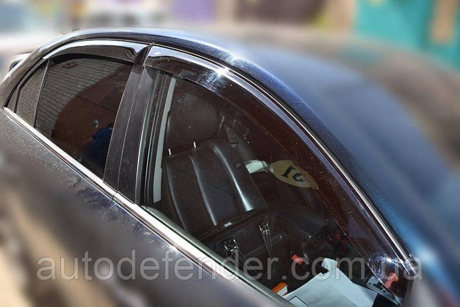 Дефлектори вікон (вітровики) Hyundai Sonata NF 2004-2009, Cobra Tuning - VL, H22104