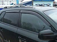 Дефлекторы окон (ветровики) Hyundai Tucson I 2004-2010, ANV - Cobra Tuning, H21604