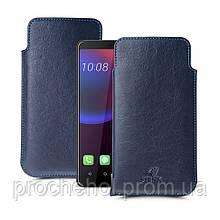 Футляр Stenk Elegance для HTC U11 Eyes Синий