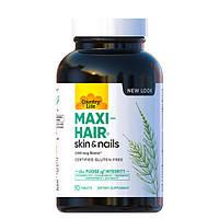 Комплекс вітамінів і мінералів Maxi-Hair Country Life для зростання і зміцнення волосся 90 таблеток