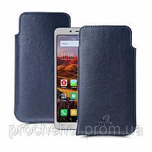 Футляр Stenk Elegance для Xiaomi Redmi 6 Синий