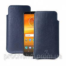 Футляр Stenk Elegance для Motorola Moto E5 Plus Синий