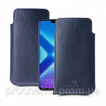 Футляр Stenk Elegance для Huawei Honor 8X Синий