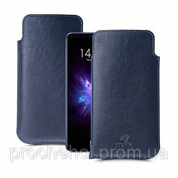 Футляр Stenk Elegance для Meizu Note 8 Синий