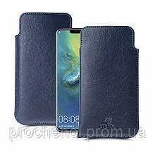 Футляр Stenk Elegance для Huawei Mate 20 Pro Синий