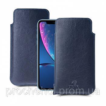 Футляр Stenk Elegance для Apple iPhone XR Синий