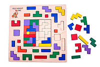 Дерев'яна іграшка сортер Тетріс Розумний лис (90138)