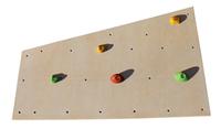 Детская развивающая стенка-скалодром на каркасе для квартиры с 20 зацепами «Тетрис» до 100 кг 125х200 см