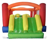 Детский Надувной Батут Fun World с двумя горками для дачи, возле дома, для детей от 3 до 14 лет 600х300х200 см