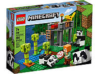 Lego Minecraft Питомник панд 21158, фото 1