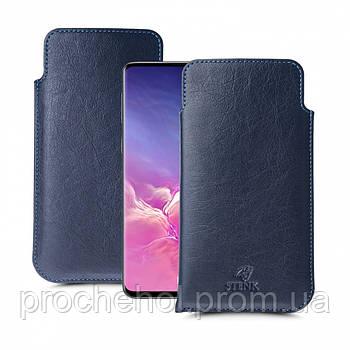 Футляр Stenk Elegance для Samsung Galaxy S10 Синий