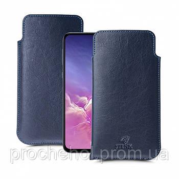 Футляр Stenk Elegance для Samsung Galaxy S10e Синий