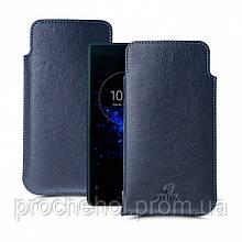 Футляр Stenk Elegance для Sony Xperia XZ2 Compact Синий