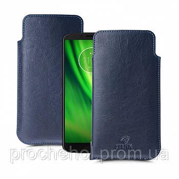 Футляр Stenk Elegance для Motorola Moto G6 Play Синий