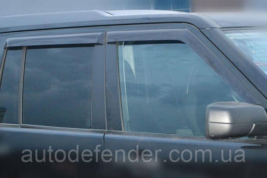 Дефлекторы окон (ветровики) Land Rover Discovery III 2004-2009, Cobra Tuning - VL, L10104