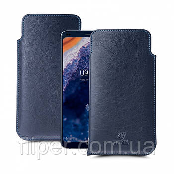 Футляр Stenk Elegance для Nokia 9 PureView Синий