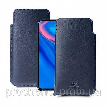Футляр Stenk Elegance для Huawei P Smart Z Синий