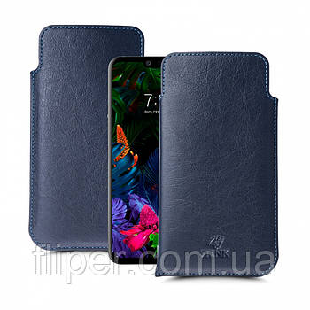 Футляр Stenk Elegance для LG G8 ThinQ Синий