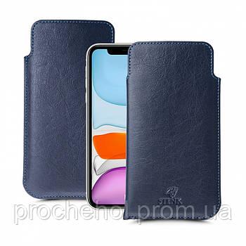Футляр Stenk Elegance для Apple iPhone 11 Синий