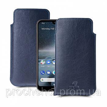 Футляр Stenk Elegance для Nokia 4.2 Синий