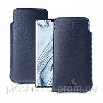 Футляр Stenk Elegance для Xiaomi Mi Note 10 Синий