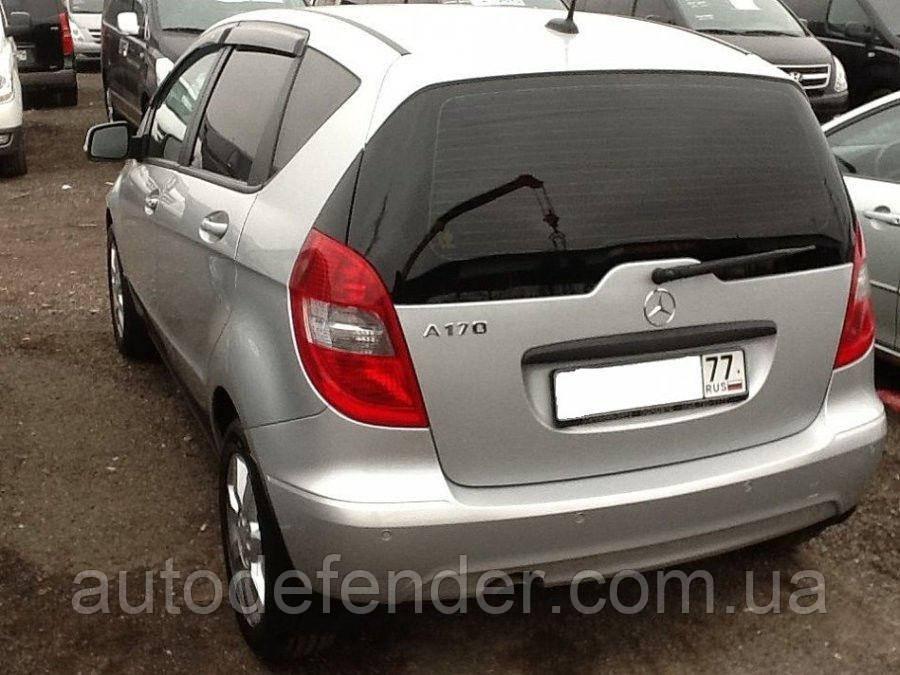 Дефлекторы окон (ветровики) Mercedes-Benz A-Class W169 2004-2012, Cobra Tuning - VL, M32704