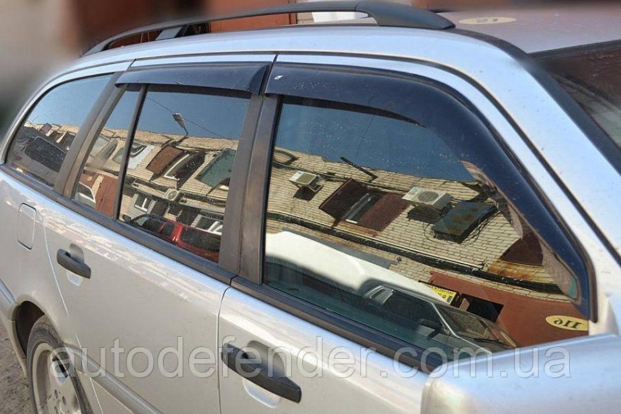 Дефлекторы окон (ветровики) Mercedes-Benz C-Class S202 W202 wagon 1995-2000, Cobra Tuning - VL, M30696