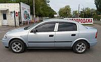 Дефлекторы окон (ветровики) Opel Astra G sedan Classic 1998-2008/hatchback, ANV - Cobra Tuning, O10598