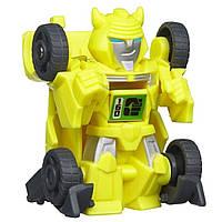 Игровой Автобот Трансформер Бамблби, Бот-Шотс, авто-трансформация - Bumblebee, Flip Shot, Bot Shots, Hasbro