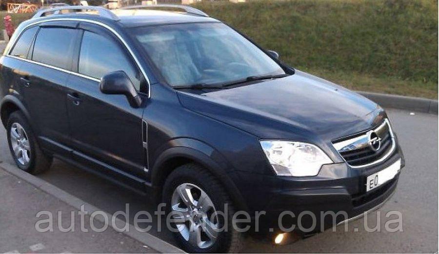 Дефлекторы окон (ветровики) Opel Antara 2006-2016, Cobra Tuning - VL, O10106