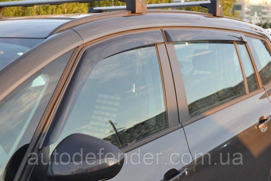 Дефлекторы окон (ветровики) Opel Zafira C 2012-, Cobra Tuning - VL, O13011